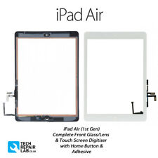 Complete Front Glass/Digitiser Touch Screen Assembly iPad Air (1st Gen) - WHITE