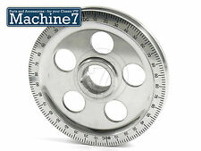 Classic VW Beetle Engine Crankshaft Pulley Wheel w. Timing Marks Polished Black
