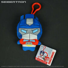 Clip Bots OPTIMUS PRIME Transformers G1 Cyberverse Plush Hasbro 2018 New