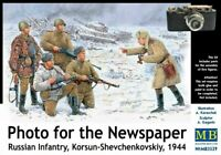 MAS3529 - Masterbox 1:35 - Fanteria Russa Korsun-Shevchen .1944
