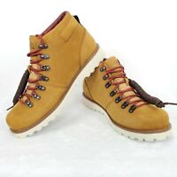 """The North Face Mens Ballard 6"""" Waterproof Brown Leather Insulated Hiking Boots"""