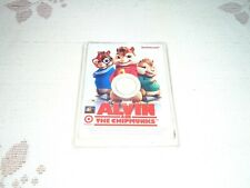 Rare Target iactivecard DVD game-card for Alvin and The Chipmunks