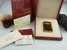 S.T. DUPONT FEUERZEUG BRIQUET MONTPARNASSE LAQUE MADURO 0016881 BOX UND PAPIERE