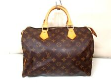 Authentic LOUIS VUITTON Monogram Speedy 30 M41526 Handbag SP0987