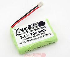 Ni-MH 3.6V 700mAh Rechargeable Battery Universal for Cordless phone 3SB US/RU