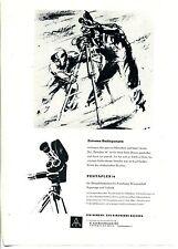 VEB fotocamera e cinema opere Dresda -- EXTREME cameriere -- Pubblicità di 1959 -