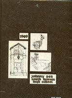 Original 1969 South High School Yearbook - Denver, Colorado - Johnny Reb