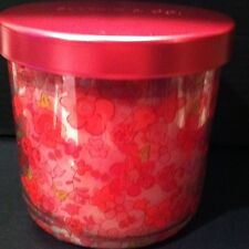 4 OZ BATH & BODY WORKS SLATKIN & CO. HYDRANGEA SMALL FLORAL FLOWERS CANDLE RARE