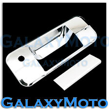 07-12 TOYOTA TUNDRA CREWMAX DOUBLE CAB Chrome Tailgate w. Keyhole Handle Cover