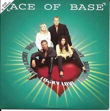 CD CARDSLEEVE CARTONNE ACE OF BASE LUCKY LOVE 2T DE 1995 TBE