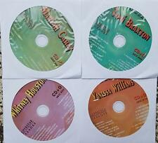 4 CDG R&B KARAOKE DISCS 1980'S & 1990'S FEMALE HITS WHITNEY HOUSTON,MARIAH CAREY