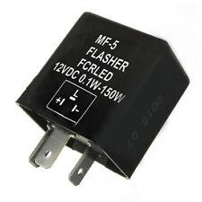 12V Universal Motorcycle 3 Pin Turn Signal Indicator LED Flasher Blinker