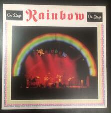RAINBOW On Stage 2010 2LP WHITE VINYL Black Sabbath DEEP PURPLE Iron Maiden Rare