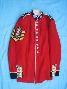 British Army Coldstream Guards Colour Sergeant Tunic Ceremonial Parade