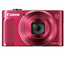 Canon Compact Digital Camera Power Shot SX620HS Red from Japan New