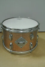 "1964 SLINGERLAND 12"" TOM w/ CHAMPAGNE SPARKLE FINISH! #K56"