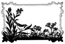 Creative Expressions di Sue Wilson BIRDSONG Meadow Pre Taglio TIMBRO UMS550