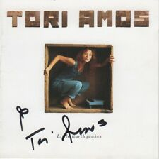 """Tori Amos Autogramm signed CD Booklet  """"Little Earthquakes"""""""