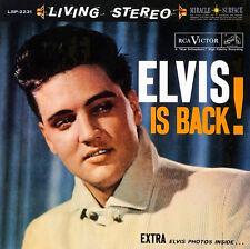 Elvis Presley, Elvis is Back ( 2 LP 200 gram_45RPM )