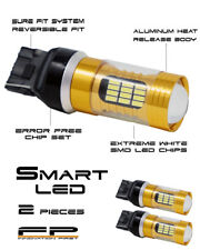 2X ULTRA BRIGHT White 7440 T20 Canbus LED Tail Reverse Backup Light Bulbs PAIR