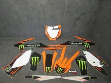 KTM SX/SXF 125-450 2016-2018 D cor Monster Energy Team gráficos GR033