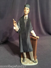 "Lladro ""The Barrister� Attorney (4908 Mint in Box ) Perfect for a Present!"