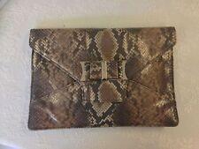 Ted Baker Magnetic Snap Snakeskin Handbags