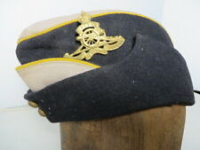 Ww1 Canadian Overseas Dress cap with Quo Fas Et Gloria Ducunt Arty Badge