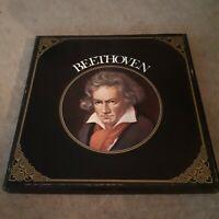 """BEETHOVEN - CONCERT HALL 6 x 12"""" LP VINYL CLASSICAL MUSIC BOXSET"""