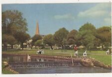 Dawlish Water Devon 1969 Postcard Jerome Dessain 753b