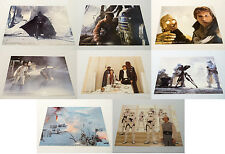 "Star Wars Mini-Lobby Card Set of 8 Empire Strikes Back 1980 8"" X 10"" Lucasfilm"