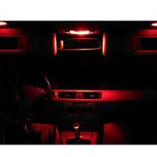 SMD LED Innenraumbeleuchtung VW Golf 5 V 1K rot Innenlicht GTI GT R32 1
