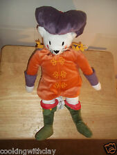 RARE SWEDISH IKEA RENAISSANCE FAIR RIDDERLIG CAT DEPARTMENT STORE PLUSH DOLL TOY