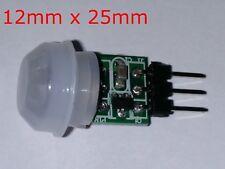 Mini IR Piroeléctrico Infrarrojo Movimiento PIR Módulo de Sensor Humano detector de automático