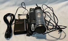 New ListingPanasonic Pv-Gs200 Mini Camcorder 3Ccd Leica Dimocar With Accessories