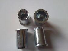 FIXM10SRNRHEAD M10 10mm STEEL RIVET NUT RIVNUT NUTSERT ROUND HEAD x10