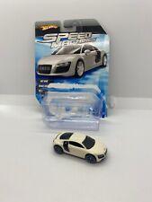 Hot Wheels 2009 Speed Machines Audi R8 White