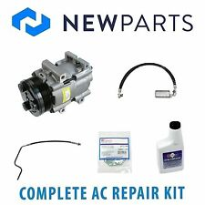 For Mercury Cougar Ford 5.0L Complete A/C Repair Kit W/NEW Compressor & Clutch