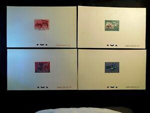 VIETNAM Presentation PROOF Stamp Set Scott 307-310 MNH RARE Item with Fault