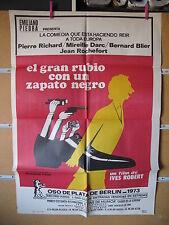 A2467 El gran rubio con un zapato negro Pierre Richard, Bernard Blier, Jean Roch