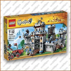 LEGO #70404 - KING'S CASTLE - Brand New & Sealed, Box OK Not Perfect PLEASE READ