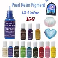 Liquid Pearl Coloring Dye Pigment Resin Epoxy Colorant DIY Jewelry Making Crafts