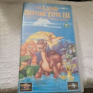 The Land Before Time III 3 Vhs Video