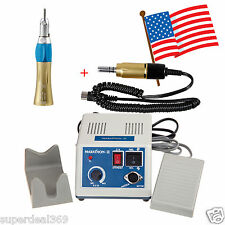 From USA Dental Lab Marathon 35K rpm Micromotor N3 w/ 1X Straight Handpiece Gold