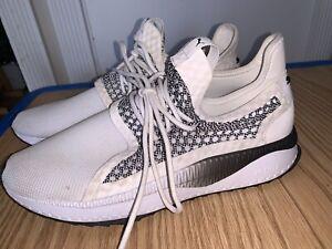 PUMA Tsugi Netfit v2 Sneakers Blk/Wht Mens 12