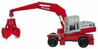 Poclain 90PB Heritage Excavator 1:87 HO SCALE Diecast Vehicle HWP HOBBY WORK