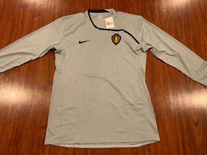 2008-09 Nike Men's Belgium Long Sleeve Player Issue Soccer Jersey XXL 2XL