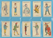 PEOPLE  -  CARRERAS  -  SET  OF  25  FIGURES  OF  FICTION  CARDS  -  1924