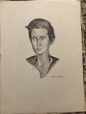 wyndham Lewis paintings modern art paper prints portrait art