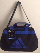 ad7b45d76517 NWT ADIDAS Diablo Small Duffel Unisex Gym Bag Black Onix Jersey Bold Blue  Sport